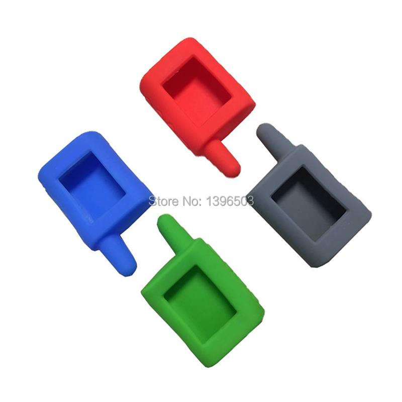 Wholesale MA Silicone Key Case For SCHER-KHAN Magicar A B LCD Remote Control Two Way Car Alarm SCHER KHAN Magicar MA MB