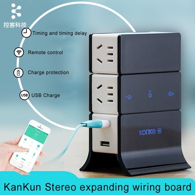 2016 new kankun ikonke smart wifi plug socket 3d expanding wiring rh aliexpress com Basic Phone Wiring Diagram Basic Phone Wiring Diagram