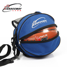 CROSSWAY 6 piece/lot Outdoor Sports Shoulder Portable Bag Case Soccer Ball Bags Football Volleyball Basketball Bag Training цена
