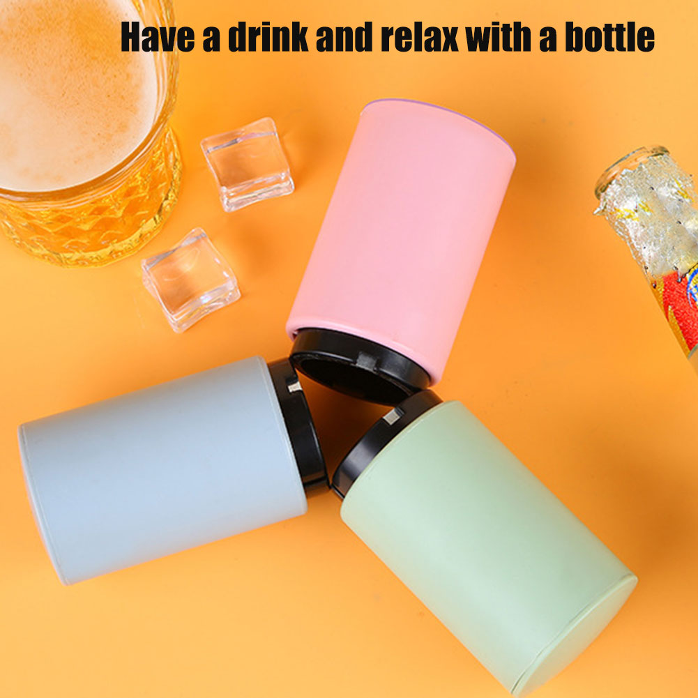 Magnet-Automatic Beer Bottle Opener Drink Wine Bottle Opener Kitchen Accessories Gadgets Can CSV