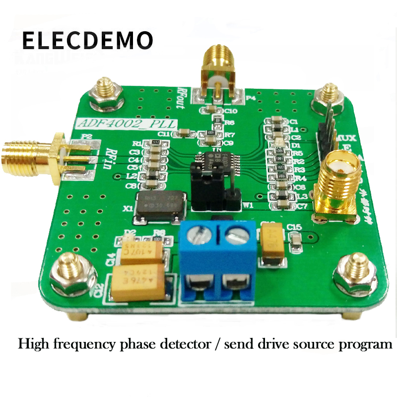 ADF4002 Module High Frequency Phase Detector Phase Locked Loop Module Send Drive Source Program Genuine Specials-in Demo Board Accessories from Computer & Office