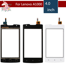 10pcs/lot 4.0 For Lenovo A1000 LCD Touch Screen Digitizer Sensor Outer Glass Lens Panel Replacement