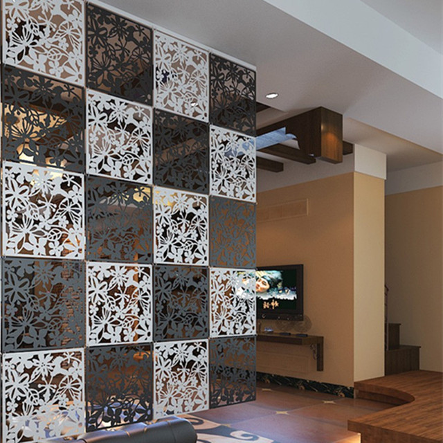 8 Stücke Raumteiler Biombo Zimmer Trennwand Raumteiler Trennwände