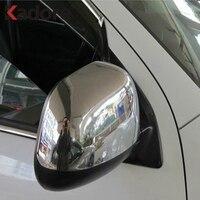 Para mitsubishi asx rvr outlander esporte 2010 2011 2012 abs chrome espelho retrovisor decoração acessórios espelho traseiro capa guarnição