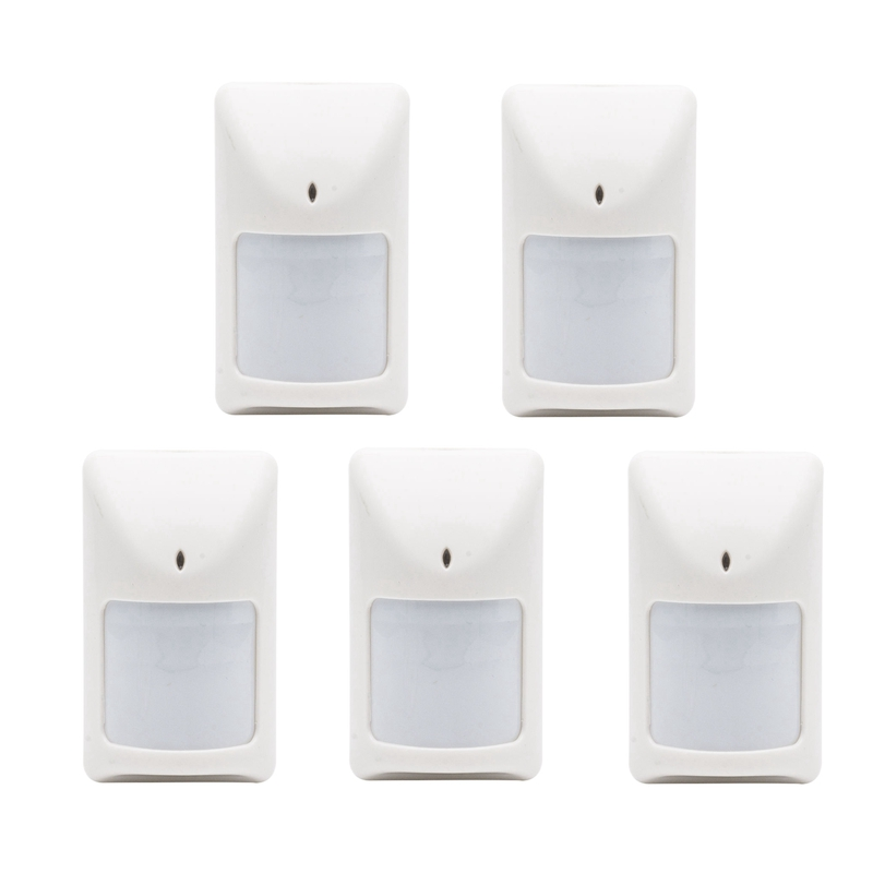 5Pcs Wired PIR Motion Detector Infrared Sensor Detector With Anti-Tamper Home Burglar Alarm System 1 pcs x hc sr505 mini infrared pir motion sensor precise infrared detector module new