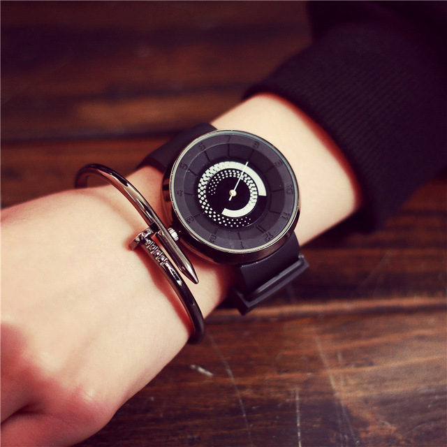 New Fashion Stylish Cool Rubber Jelly Cream Quartz Watch Wristwatches Gift for Men Boy Women Girl Students OP001