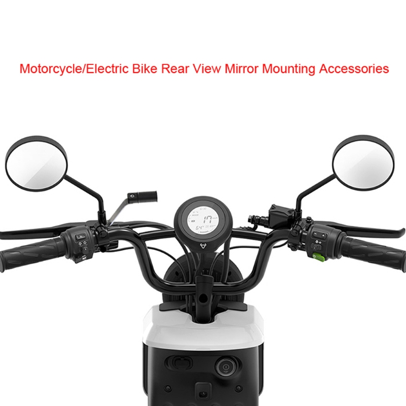 Metal Universal Bike Bicycle Rearview Mirror Mount Holder for Cellphone Stand Racks