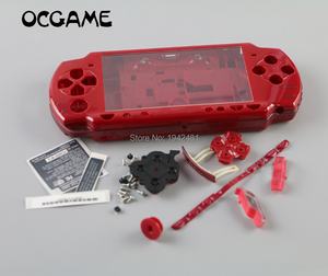 Image 1 - OCGAME באיכות גבוהה 6 צבעים זמינים עבור PSP 2000 PSP2000 המלא Shell שיכון כיסוי מקרה החלפת כפתורי קיט עם