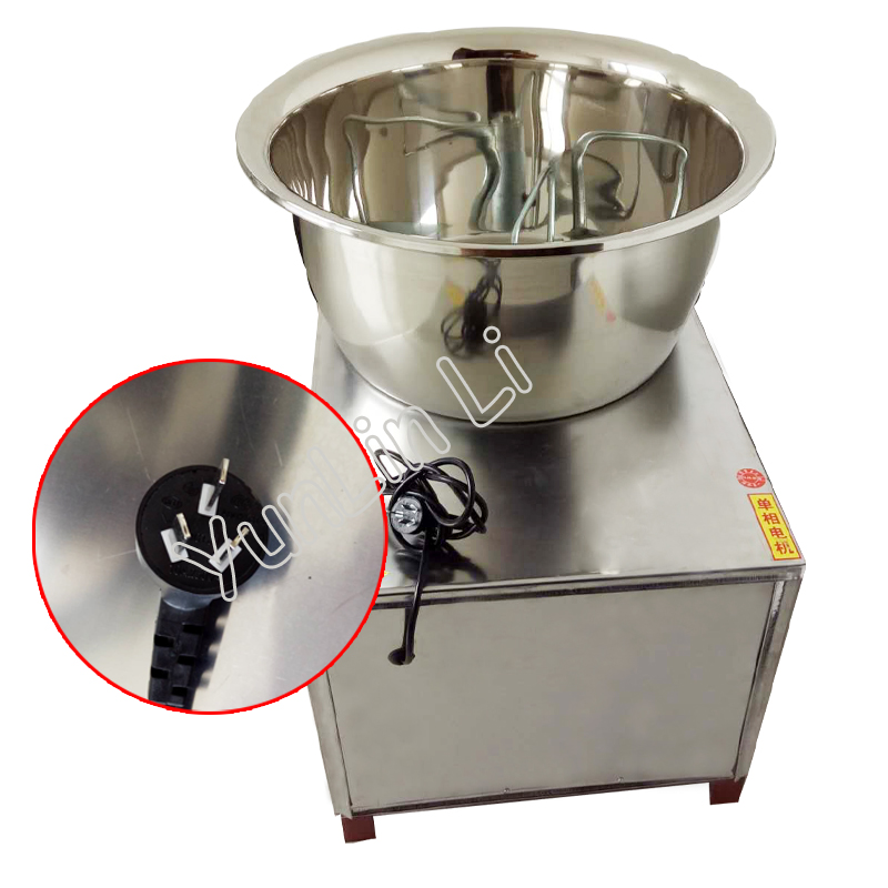 Commercial 30kg Automatic Dough Mixer 220V/110V Stainless Steel Mixer Stirring Mixer Pasta Machine Dough Kneading HMP-30 stainless steel dough mixing machine home automatic kneading machine small commercial electric mixer 2 kg capacity dough mixer