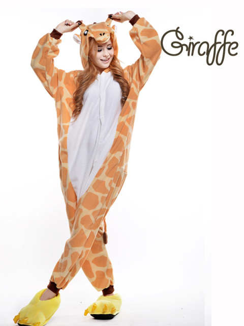 Aliexpress.com : Buy Adult Giraffe Onesie/ Adult Animal Footed ...