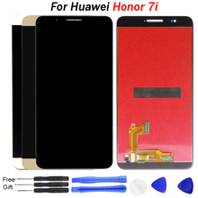 цены на For Huawei Honor 7i LCD Display with Touch Screen Digitizer Assembly Replacement Parts 5.2 inch for Honor 7i Display Shot X LCD  в интернет-магазинах