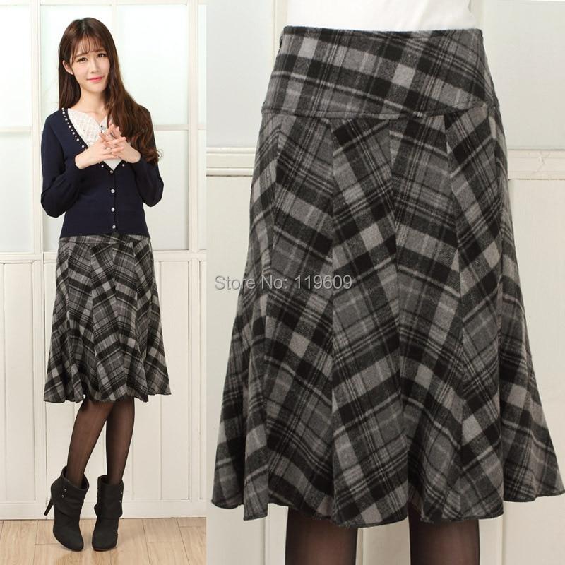 A Line Skirt Winter - Dress Ala