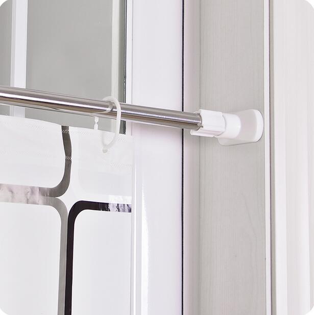 Aliexpress.com : Buy Bathroom Shower Curtain Rod Retractable ...