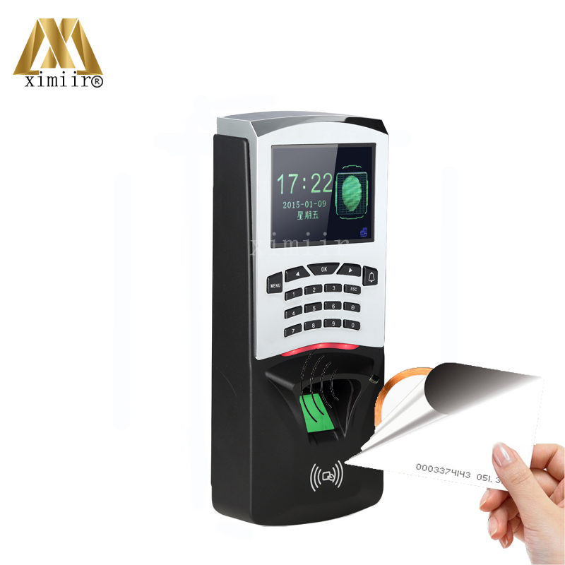 Cheap price TCP/IP USB biometric fingerprint and RFID card time attendance system TFT color screen fingerprint access control zk iface701 face and rfid card time attendance tcp ip linux system biometric facial door access controller system with battery