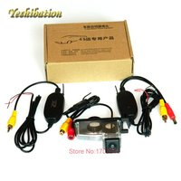 Yeshibation Wireless RearView Camera For Nissan Tiida Versa Hatchback HD CCD Night Vision Parking Camera Wireless