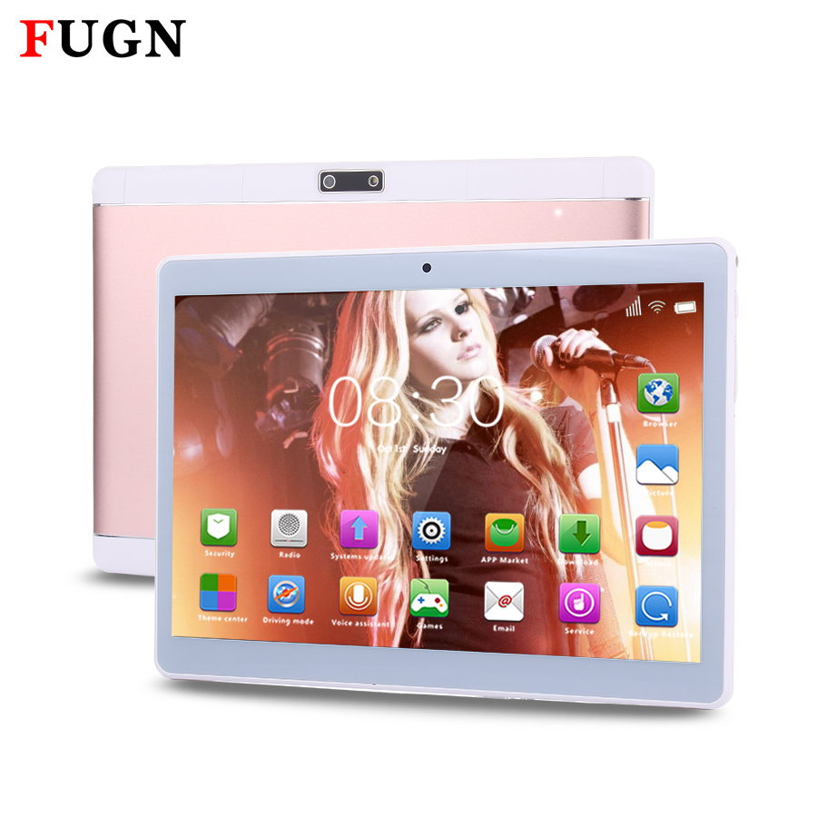 FUGN 9.7 inch 3G Phone Call Tablet Octa Core Android 6.0 1920x1200 IPS Dual SIM Cameras WIFI 4G RAM 32G 64G Netbook Tablet 8 10'