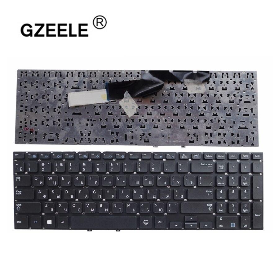 GZEELE Russian Keyboard For Samsung 270e5v 275e5v 275E5E 270E5E NP270E5E NP275E5E NP270E5V NP275E5V BA59-03270A BA75-04093C RU