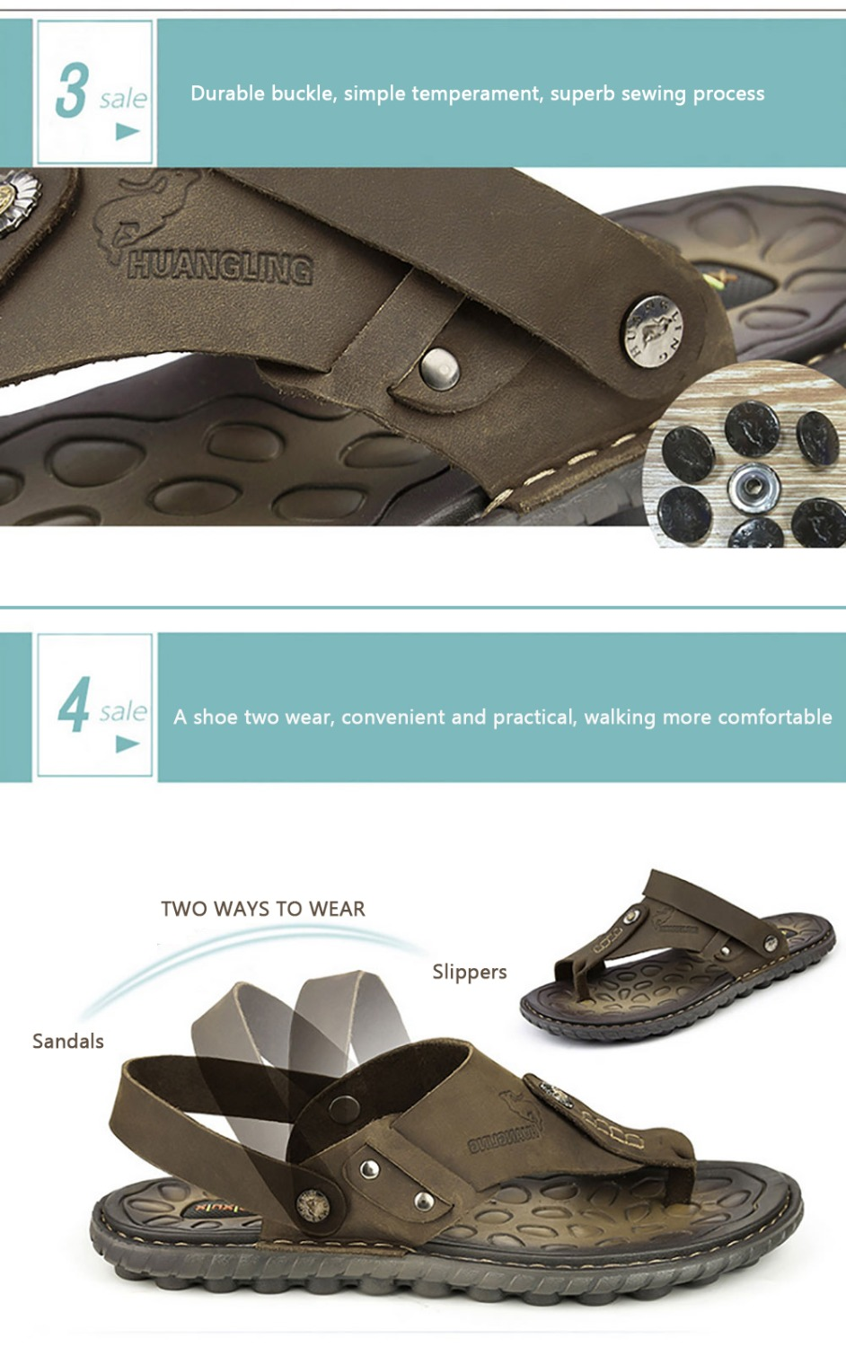 347c90f43 Summer Men Home Slippers Luxury Men Sandals Zapatos Hombre Casual Beach  Flip Flops Men Slippers Genuine Leather Chaussure Homme -in Men s Sandals  from Shoes ...