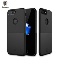 Baseus Luxury Double PC TPU Cover Case For IPhone 7 Plus Durable Protective Phone Coque Shell