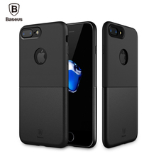 Baseus Luxury Double PC + TPU Cover Case For iPhone 7 Plus Durable Protective Phone Coque Shell For iPhone 7 Case