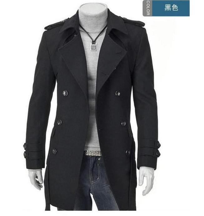 Online Get Cheap Grey Double Breasted Coat Men -Aliexpress.com ...