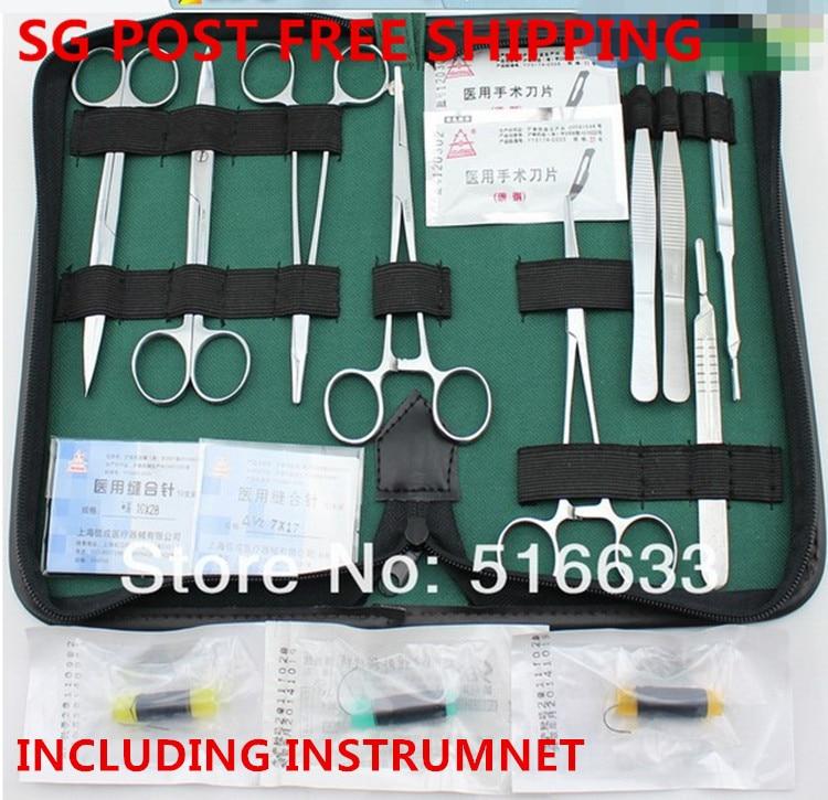 bilder für SG Pfosten-freies verschiffen ausbildung Chirurgische instrument werkzeug kit/chirurgische nahtmaterialverpackung kits set für arzt und student