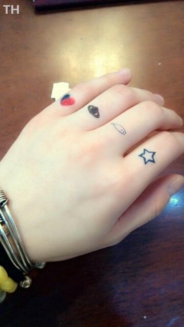 Red Henna Tattoo: Aliexpress.com : Buy Cute Indian Black Red Henna Tattoo