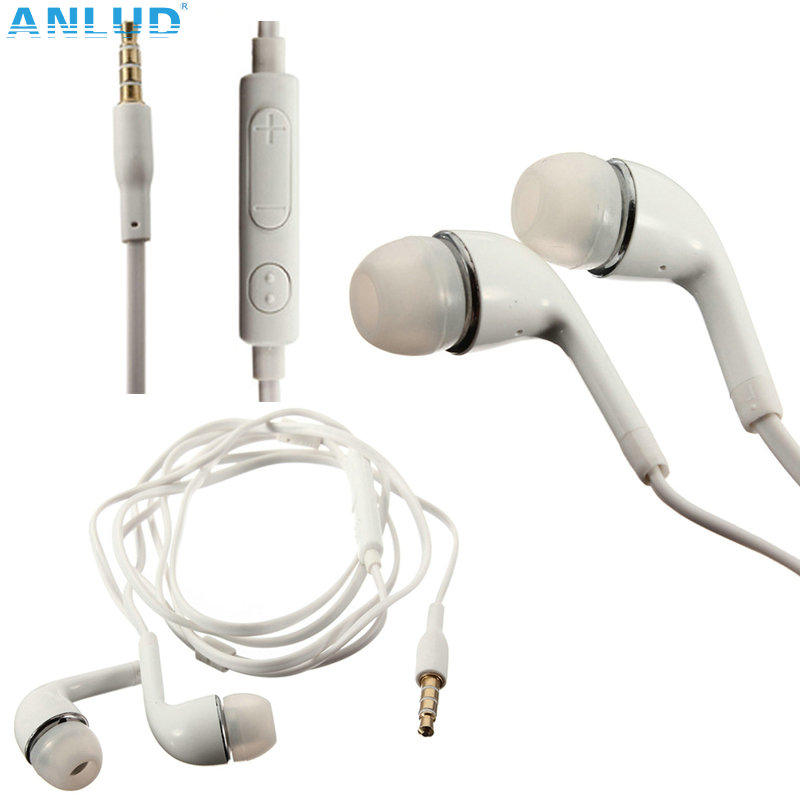 Free Shipping 2016 New Arrivel In-Ear Earphones with Remote Microphone Handsfree Headphone For Android Mobile Phone 10pcs/lot