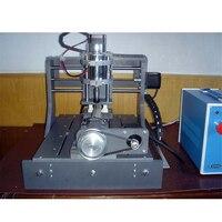 1PC 300w 3020 드릴링 및 밀링 머신  CNC PCB 조각 기계  4 축 57 모터  U 포트 이중 병렬 포트