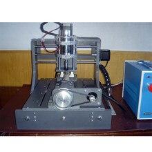 1pc 300w 3020 de perfuração e fresadora, máquina de escultura do pwb do cnc, quatro eixos 57 motor, porta paralela dupla de u