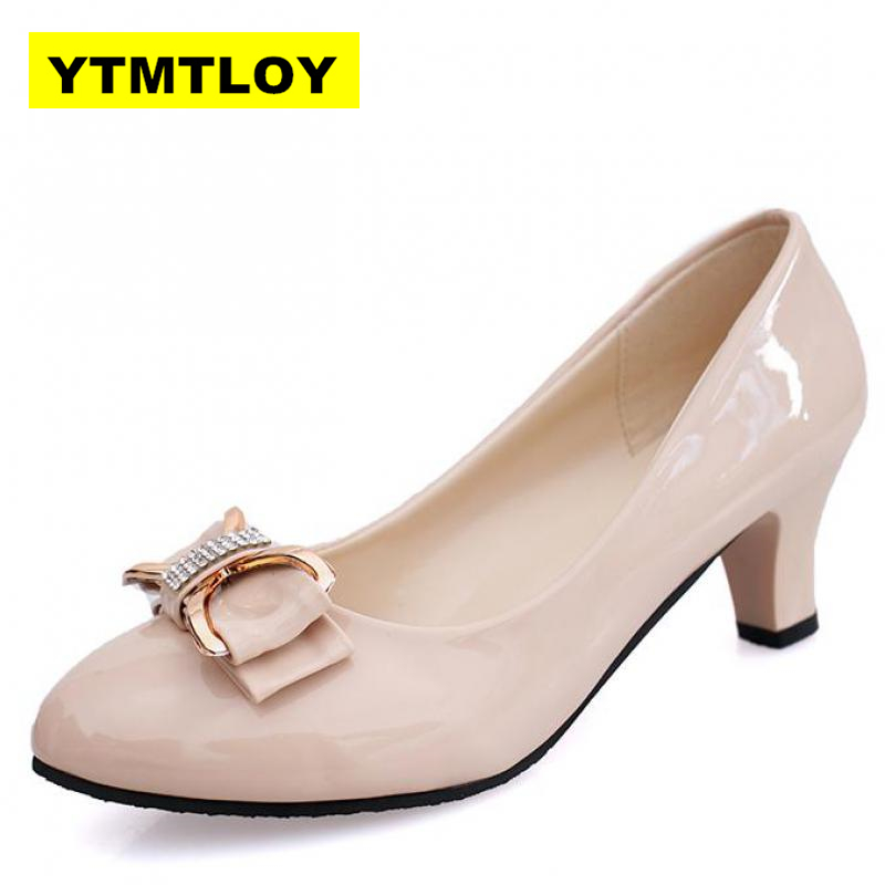 Large size 34-42 Women Pumps Fashion <font><b>Sexy</b></font> Pointed Toe Thin High Heels Woman <font><b>Shoes</b></font> Nude Women's high-heeled <font><b>shoes</b></font> single image