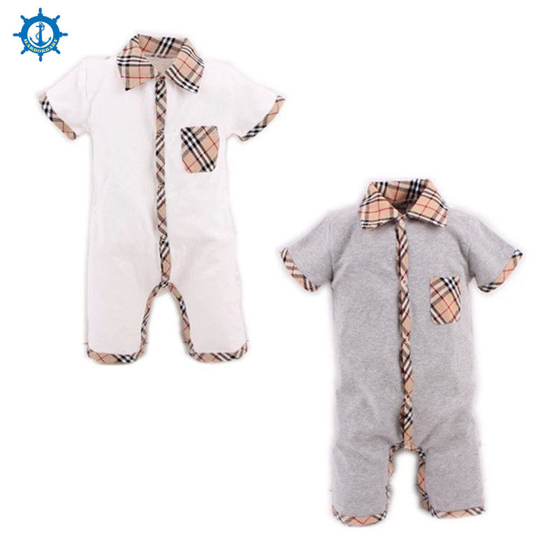 Summer Style Baby Boy Romper Newborn Baby Clothes pajamas New Born Baby Girl Clothing Ropa Bebe Children Toddlers Rompers HB022