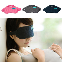 Cotton Sleep Mask Soft Blindfold Cover Eye Patch Sleep Rest Aid Relieve Sleepy Travel Portable Sleeping Tool Health Care L2