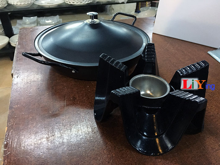 Réchaud à Alcool Kits de brûleur à Esprit de Cuisinière Marmite Panic en Acier
