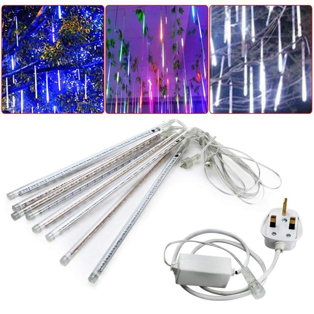 30 CM LED Meteor Rain Tube Guirlande Lumineuse LED De No l Garden