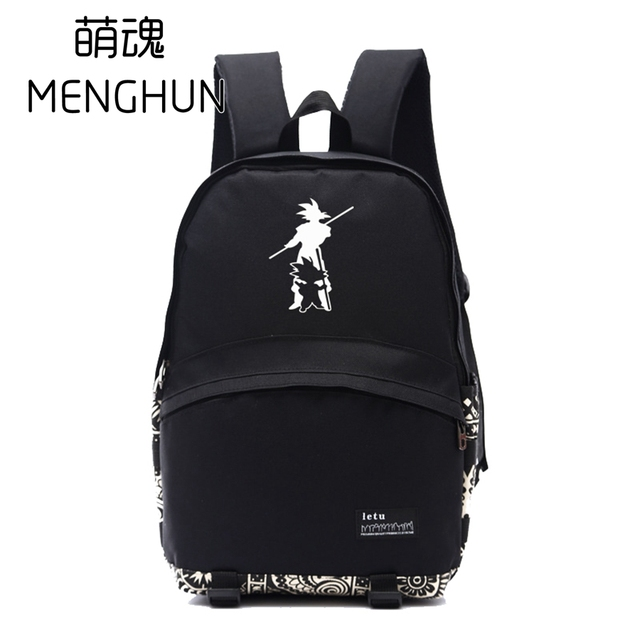 Dragon Ball Z Concept Backpack Nylon Bag