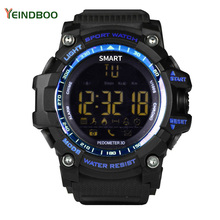 YEINDBOO EX16 Flagship Rugged Smartwatch 33-month StandbyTime 24h All-Weather Monitoring Smart Watch For IOS And Android zeblaze vibe 4 smart watch hybrid flagship rugged smartwatch 50m waterproof 33 month standby time 24h all weather monitoring