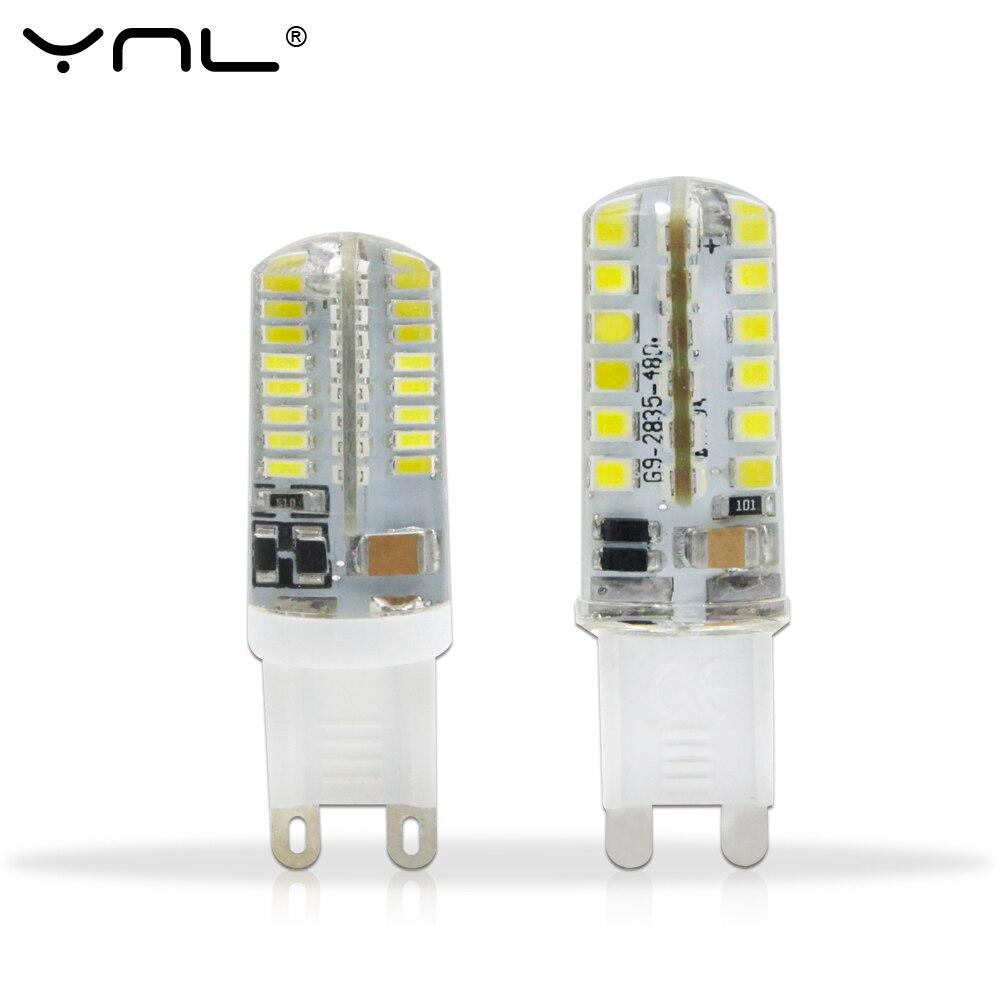YNL 10pcs Lampada G9 LED Lamp 220V 3W 2W 3014 SMD 2835 360 Beam ...