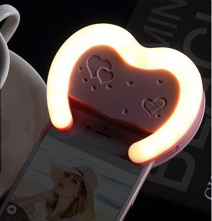 LED <font><b>Video</b></font> Light Camera Fill Light Cell Phone Spotlight Flash <font><b>for</b></font> iphone7 6 6S 5 5S <font><b>4</b></font> 4S Samsung Note3 S4 S5 S3 S6 S7 <font><b>Smartphone</b></font>
