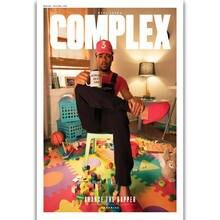 S1440 Chance Magazine Cover Acid Rap Rapper Print Canvas