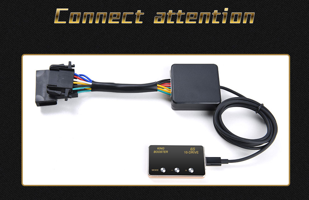 13 car DIY accessories smart pedal commander tuning box electronic throttle controller accelerator speed control module