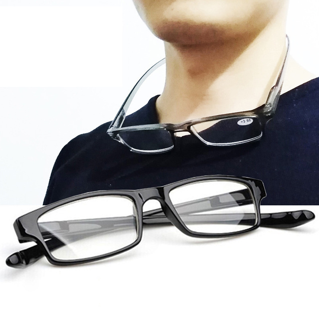Halter Reading Glasses Men Women Hanging Carry Eyeglasses Anti-fatigue Diopter Points 1.0 2.0 3.0 3.5 4.0