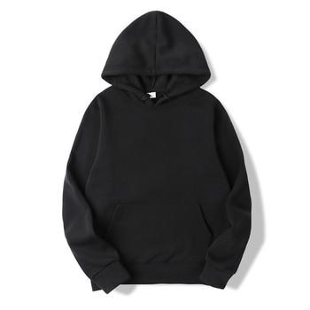 FGKKS Quality Brand Men Hoodie 2019 Autumn Male Hip Hop Streetwear Men Pullover Sweatshirts Hoodies Mens Solid Color Hoodie 1