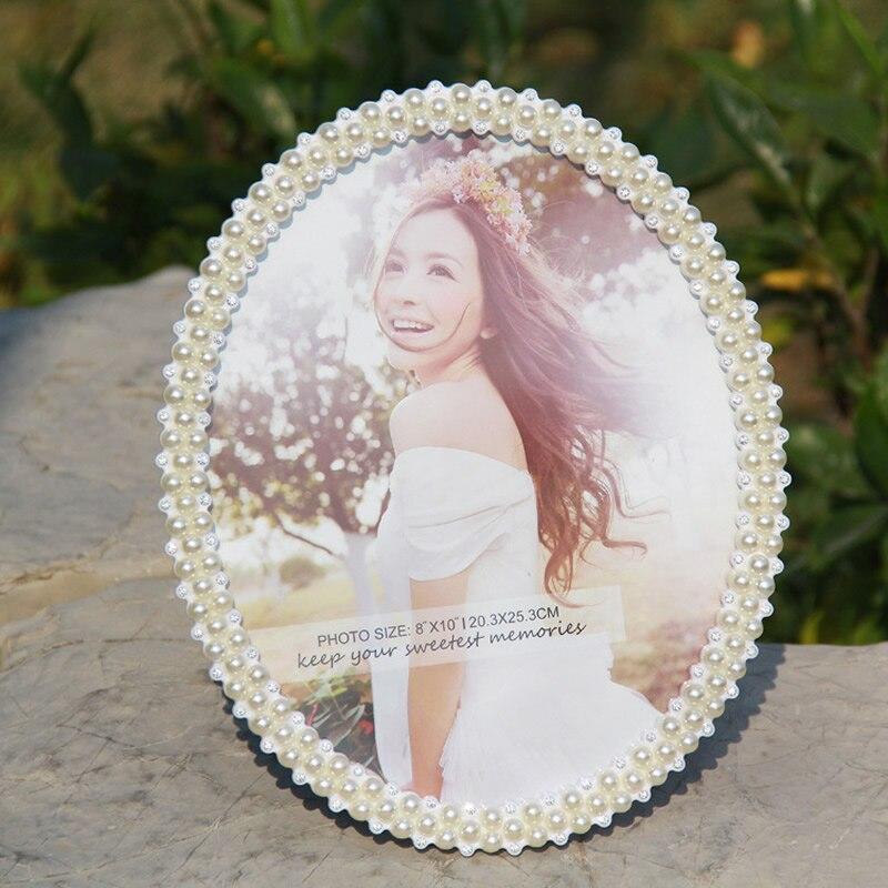 Bilderrahmen Kunststoff Bilder Rahmen mit Glas Perle Hochzeit Paar ...