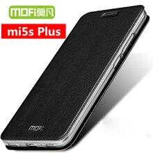 Xiomi Mi5s Plus Xiaomi Mi5s Plus case cover case funda leather xiomi 5s Plus case silicon soft back cover black  mofi original