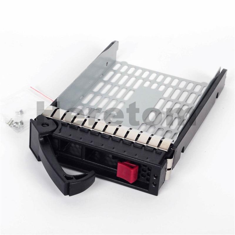 """3.5/"""" HP Hard Drive SAS SATA Tray Caddy Proliant DL160 DL180 DL320 G5 G6 373211"""