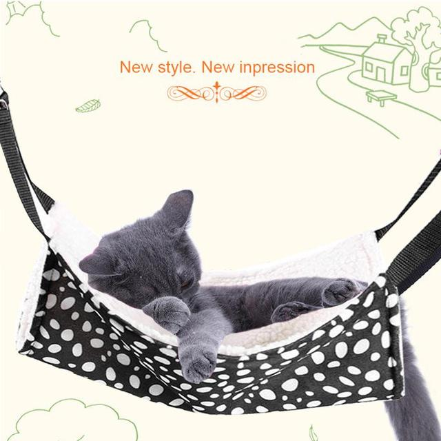 Polk Dot Polyester Pet Rat Rabbit /Ferret Chinchilla/Cat Cage Hammock Small Dog Bed Cover Bag Quality