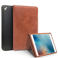 For IPad Air 2 Pro 9 7 Tablet Case Genuine Leather Flip Stents Dormancy Stand Cover
