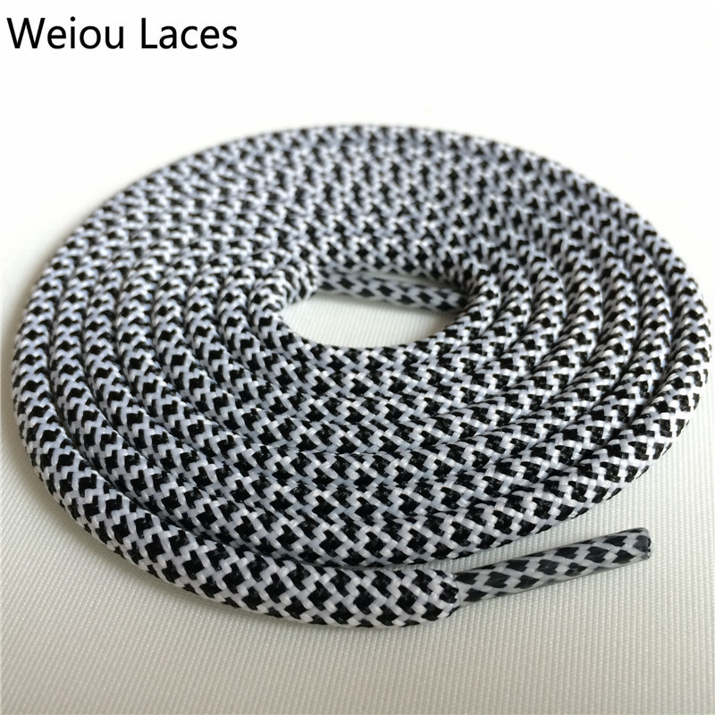 Weiou Hiking Boot Laces Rope Lacing Running Shoestring 125cm/49'' Length Sport Color Shoelaces For Basketball Jogging Shoes