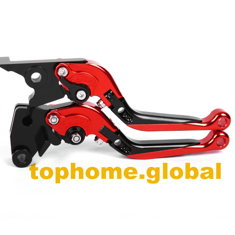 CNC Folding&Extending Brake Clutch Levers For Honda VTR1000F / FIRESTORM 1998-2005 1999 2000 2001 2002 2003 2004 2005 adjustable billet short folding brake clutch levers for honda xl 1000 varadero 2001 2002 2003 2004 2005 06 07 08 09 10 11 12 13